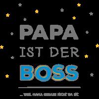Papa ist der Boss