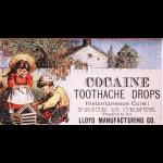 Kokain-Werbung