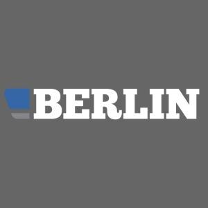 BERLIN SHIRT LOGO - WHITE