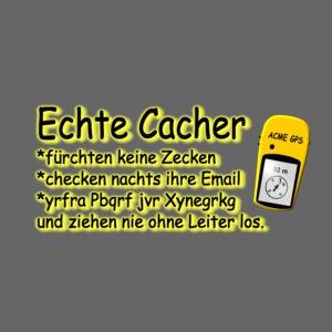 echte cacher