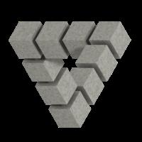 Penrose concrete blocks