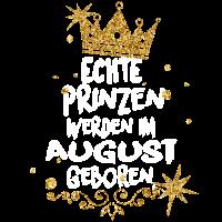 Echte Prinzen werden im August geboren
