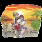 Kingdom Hearts (contour déchiré)