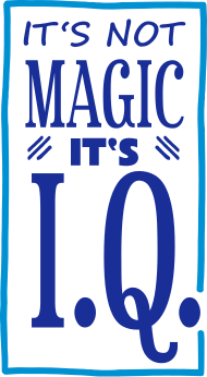 Neue Motive und Topseller: its not magic its IQ