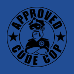 Codecop 'Approved' 32/39mm 400DPI