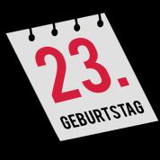 23. Geburtstag