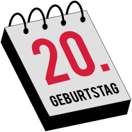 20. Geburtstagsshirt: 20geb