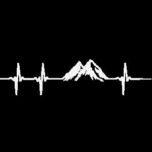 Herzschlag Berg