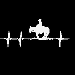 Herzschlag eines Pferdeliebhabers