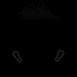 Felsklettern Halten Sie Ruhe Kreide und klettern