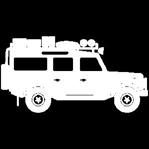 Defender D110-White