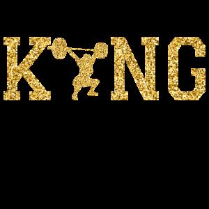 DER KING IM GEWICHTHEBEN!