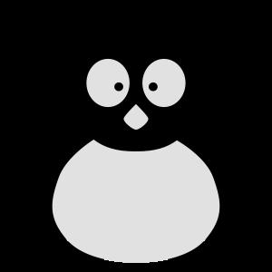 niedlicher Pinguin Winter Wildnis Polartiere Südpo