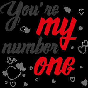 Du bist meine Nummer eins