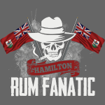 T-shirt Rum Fanatic - Hamilton, Bermuda