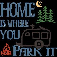 Zuhause ist, wo Sie es parken