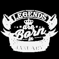 Legenden sind im Januar geboren
