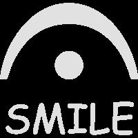 Keep smiling white