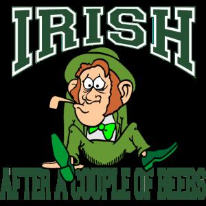 Irish Nach ein paar Bier