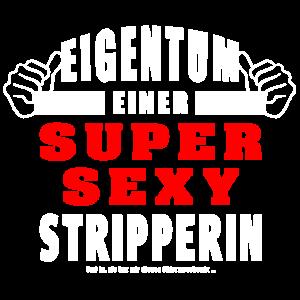 Eigentum Einer Super Sexy Stripperin