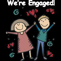 Wir sind verlobt