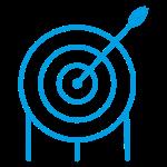 Archery Target blue