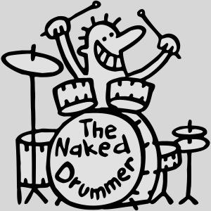the naked drummer