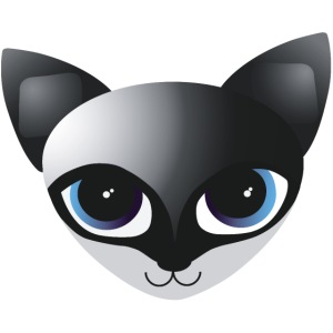 fox blue k 400px png