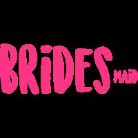 BRIDESmaid Brautjungfer