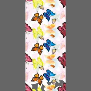 Cover iPhone6/6S farfalle