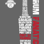 T-shirt Rum Fanatic - Fort-de-France, Martynika
