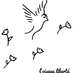 L'oiseau liberté (version dark)