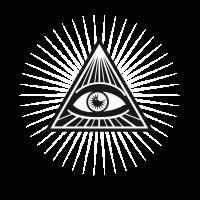 illuminati sehendes Auge erleuchtet fun cool love