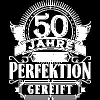 50 Jahre Geburtstag Geburt geboren Perfektion