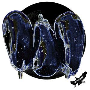 'Aubergines' by BlackenedMoonArts, w. logo