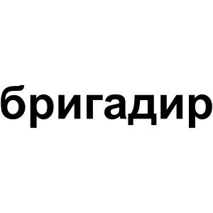 Brigadier (russisch)