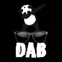 dab panda brille dabbing Dance Football fun cool l