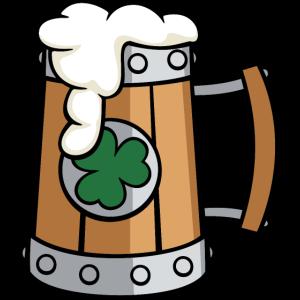 Bier-Shamrock