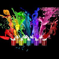 Dance of paints - 9 colors