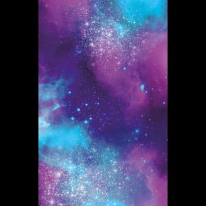 Hülle Universum pink lila türkis