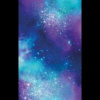 Hülle Universum blau lila türkis
