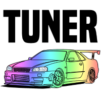 Tuner Car Colourful