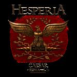 CAESAR Bronze eagle on shirt 2 scritta più picco