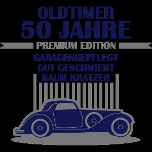 Oldtimer - 50 Jahre - Retro Geburtstagshirt