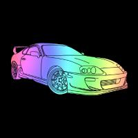 Cool Colourful Car