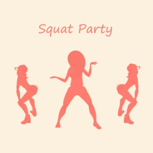 Squat party corail