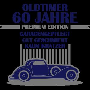Oldtimer - 60 Jahre - Retro Geburtstagshirt