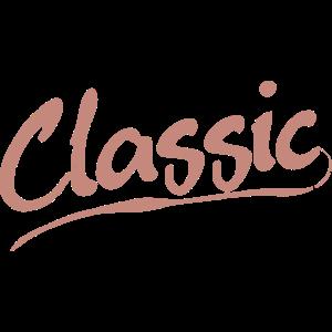 Classic & Klassik Schriftzug
