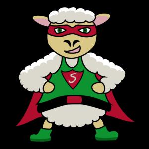 Sheep Superhero