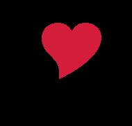 Valentinstag Shirt: i love you - i heart you